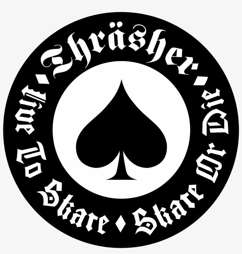 Thrasher Logo Png Transparent - Thrasher Sticker PNG Image