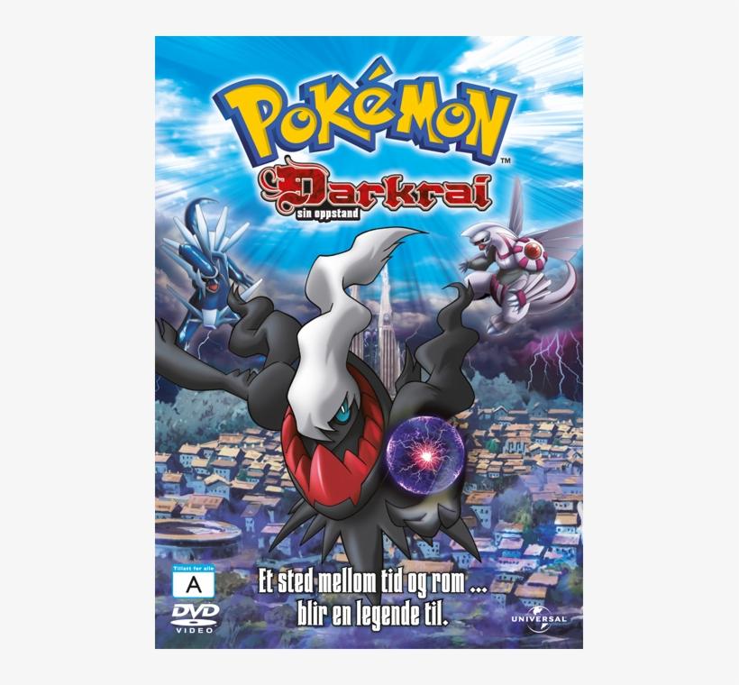 Darkrai Sin Oppstand Pokemon The Rise Of Darkrai Dvd Png Image