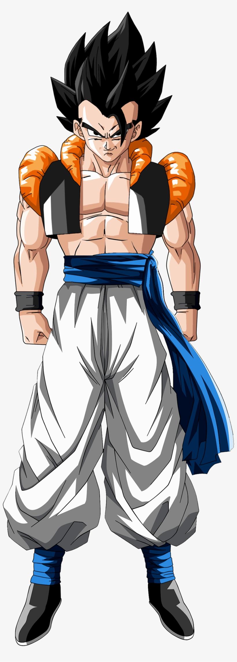 Gogeta 1a Fusion De Goku Y Vegeta - Gogeta Ssj PNG Image | Transparent PNG  Free Download on SeekPNG