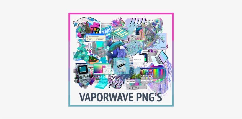 Vaporwave - Vaporwave Png Pack@seekpng.com