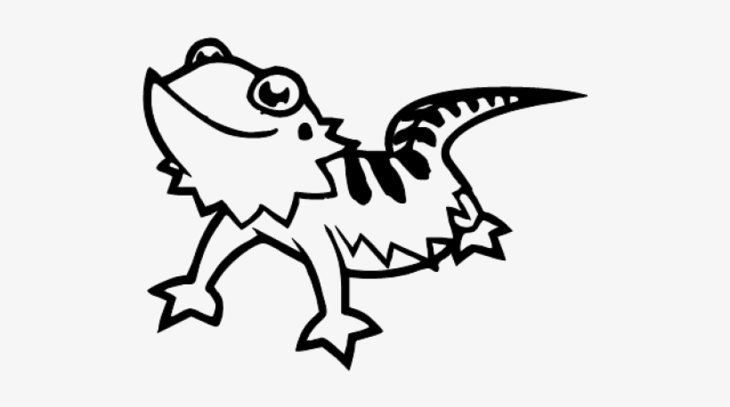 Draw A Bearded Dragon Png Image Transparent Png Free Download On