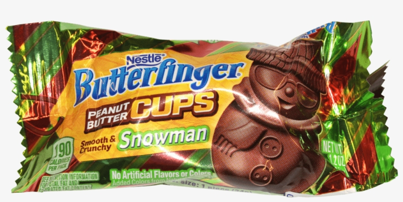 Butterfinger Snowman Pb Cup Nestle Butterfinger Peanut Butter Cups Egg 1 Oz Png Image Transparent Png Free Download On Seekpng