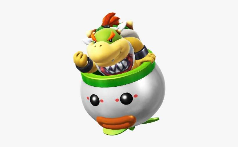 Bowser Jr By Banjo2015 D8mtpui Bowser Jr In Clown Car Png