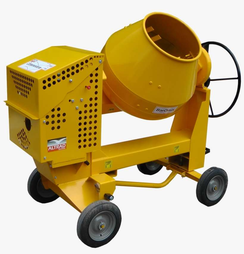 Baromix Commodore - Concrete Mixer Machine Png PNG Image