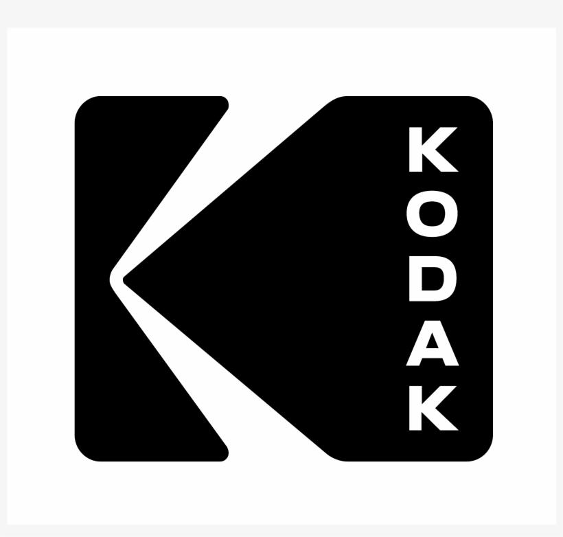 Kodak Logo Black And White - Kodak Logo Black PNG Image