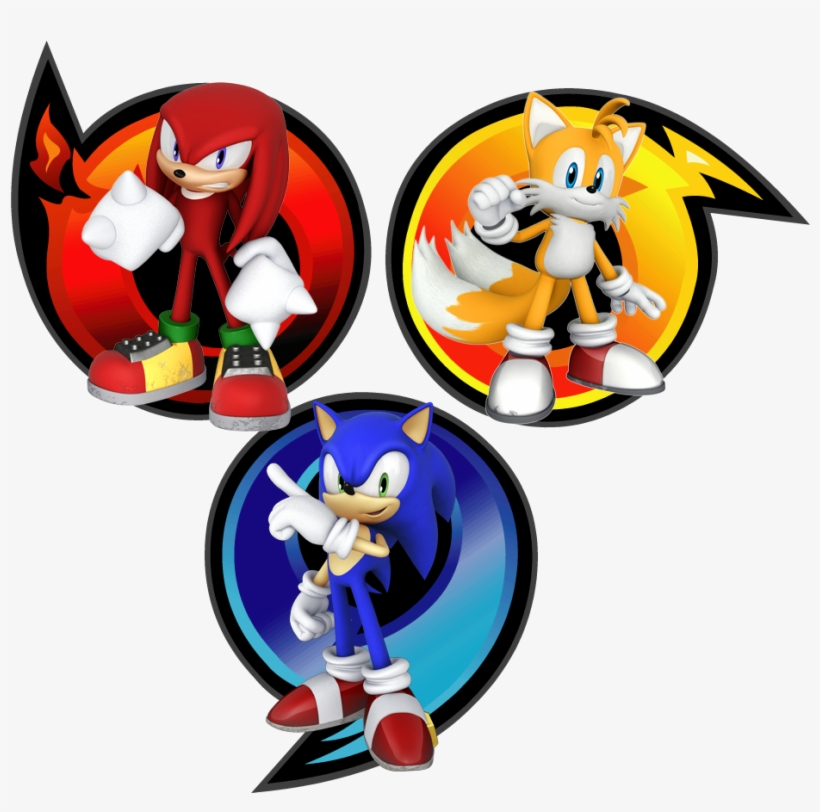Custom - Sonic Heroes Team Sonic Logo@seekpng.com