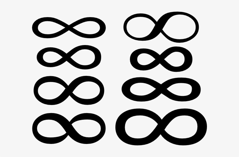 Big Infinity Symbol Clip Art At Clipart Library Free Infinity Sign Vector Png Image Transparent Png Free Download On Seekpng