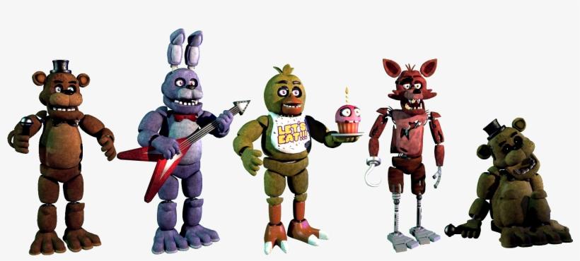 Five Nights At Freddys 1 Extras Imagenes De Five Nights At