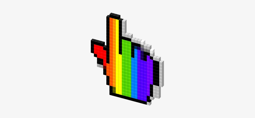 Rainbow Hand Cursor Png Png Image Transparent Png Free Download On Seekpng To created add 34 pieces, transparent cursor images of your project files with the background cleaned. rainbow hand cursor png png image