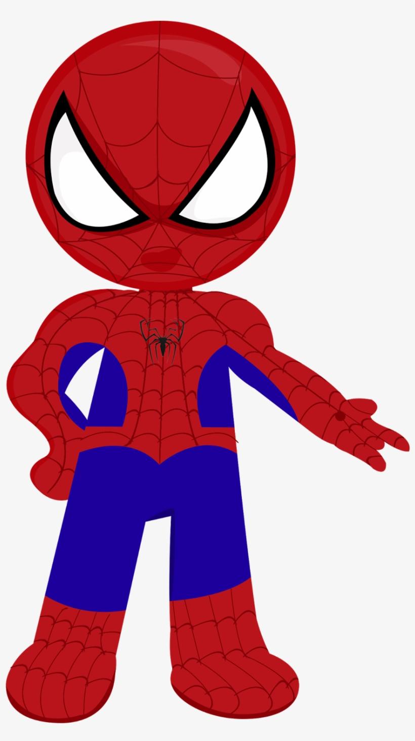 Spiderman Clipart Topper De Bolo Homem Aranha Para Imprimir Png