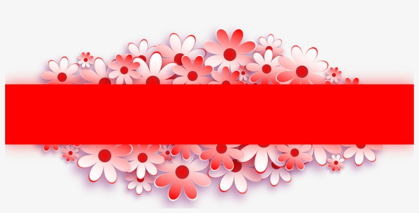 Banner Flower Red For Web Background Banner Pernikahan