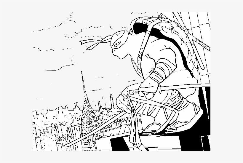Ninja Turtles Coloring Pages Pdf - Coloring Home | 550x820