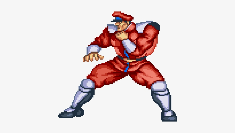 Mbison Street Fighter 8 Bit Characters Png Image Transparent