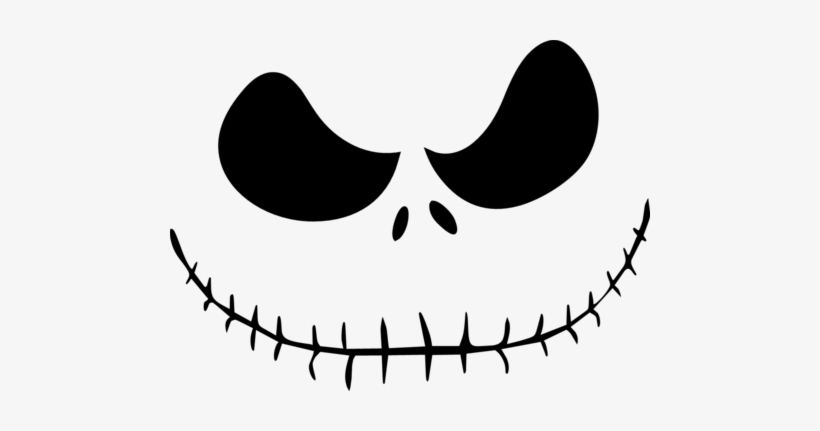 image about Nightmare Before Christmas Printable named Nightmare Just before Xmas - Printable Jack Skellington Deal with