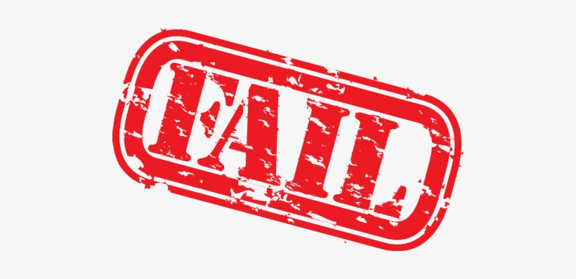 Failed Stamp Png Clip Transparent Download Png Image Transparent Png Free Download On Seekpng