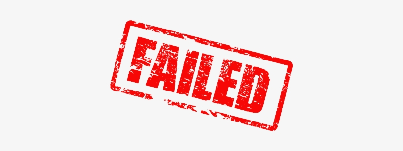 Fail Png Png Images Png Cliparts Free Download On Seekpng