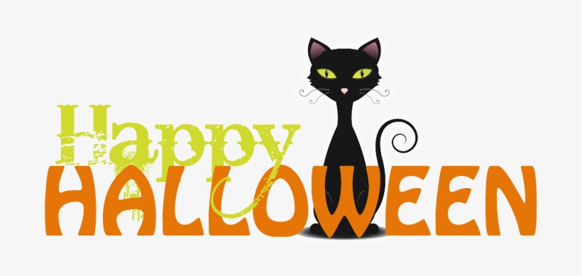 Free Halloween Clip Art Halloween Clipart Free Halloween Happy Halloween With Cat Png Image Transparent Png Free Download On Seekpng