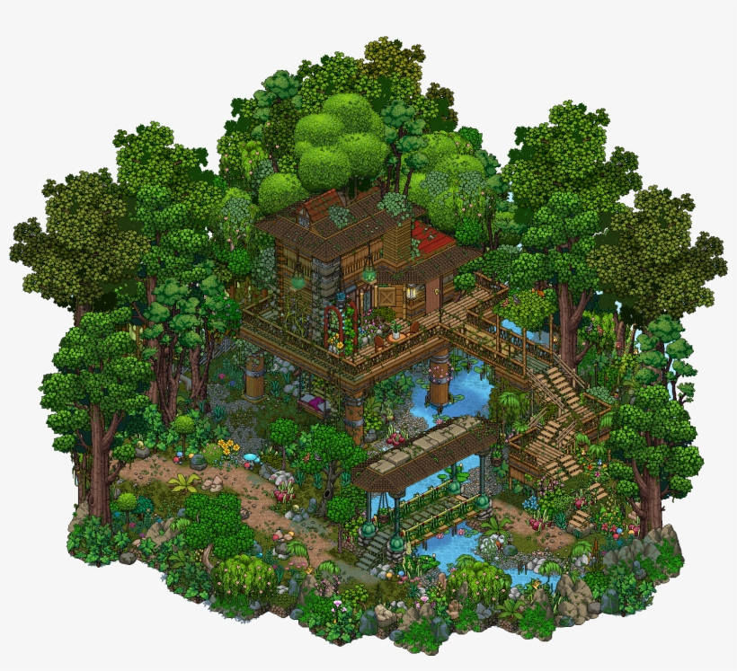 Jungle Treehouse By Cutiezor Minecraft House Plans Casa Del Arbol Minecraft Png Image Transparent Png Free Download On Seekpng