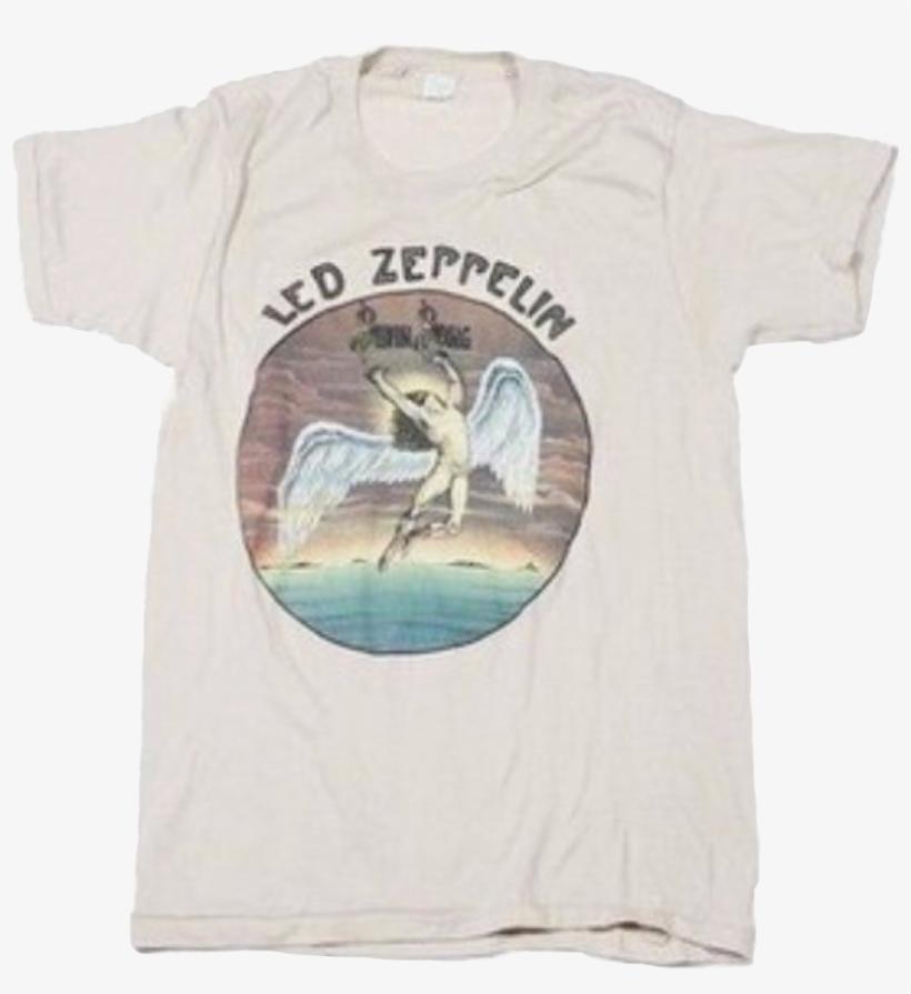 1ecc39caaa44 White Off Offwhite Ledzeppelin Led Zeppelin Rainbow - Vintage Led Zeppelin  Swan Song Shirt
