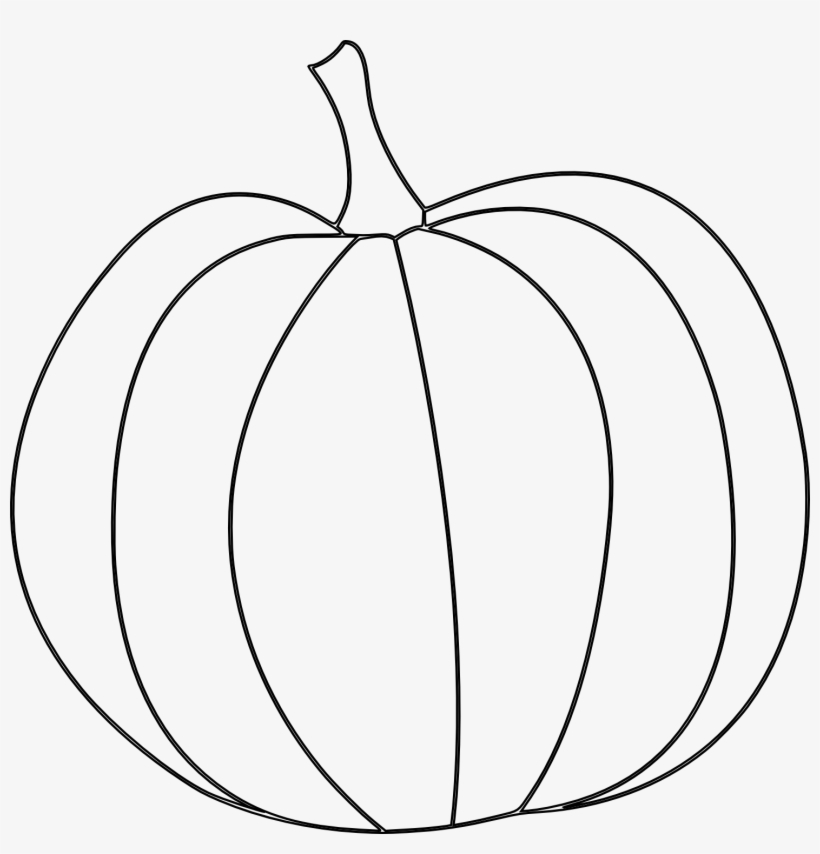 photo about Pumpkin Stencil Printable named Pumpkin Drawing - Pumpkin Template Printable PNG Picture