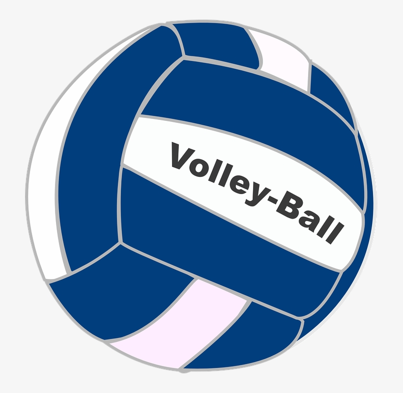 Volleyball Clipart Blue - Volleyball Clip Art PNG Image | Transparent PNG  Free Download on SeekPNG