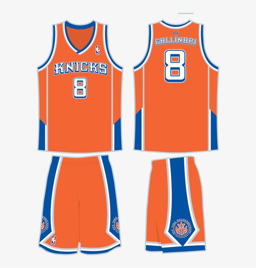 brand new d88a2 75d58 knicks jersey orange