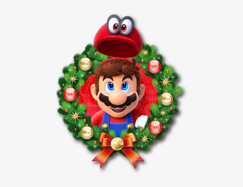 Christmas Mario Png.Merry Christmas From Nintendo Super Mario Odyssey