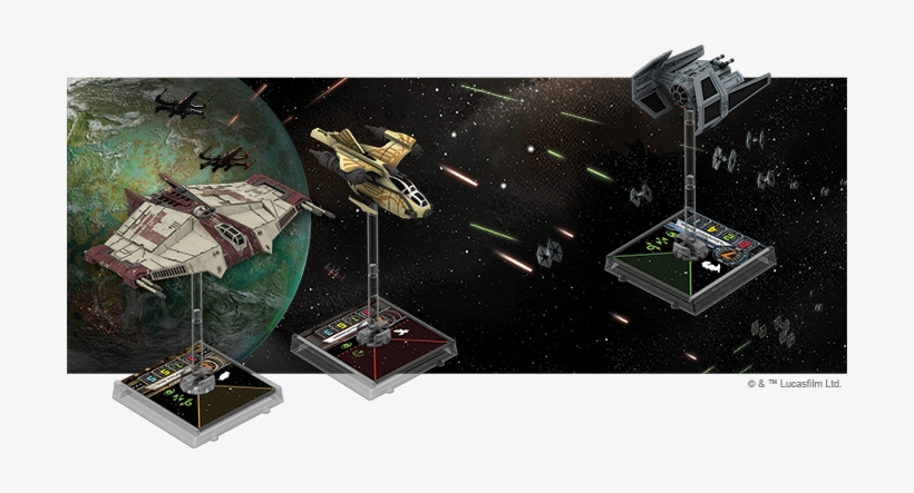 Auzituck Gunship Expansion Pack X-Wing Miniatures Game