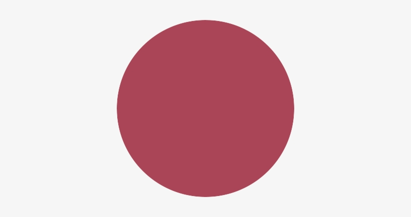 A Very Large Red Semi-transparent Circle - Red Circle Instagram