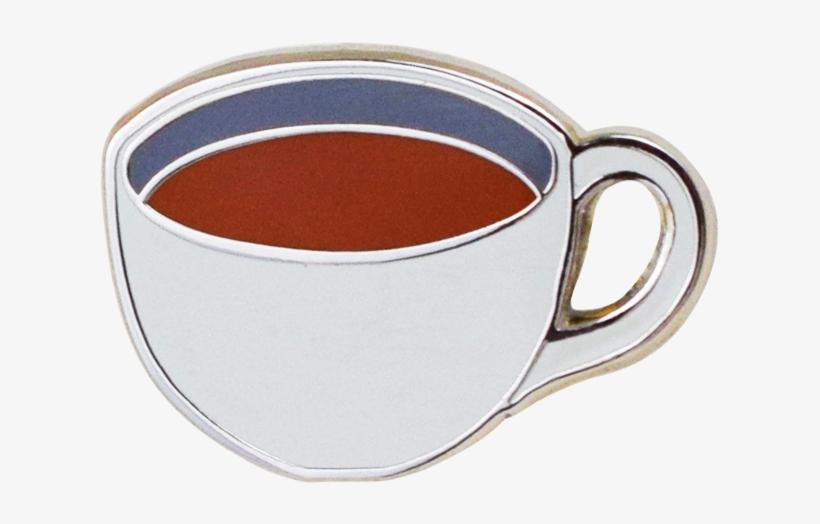 Coffee Emoji Pin - Emoji PNG Image | Transparent PNG Free Download