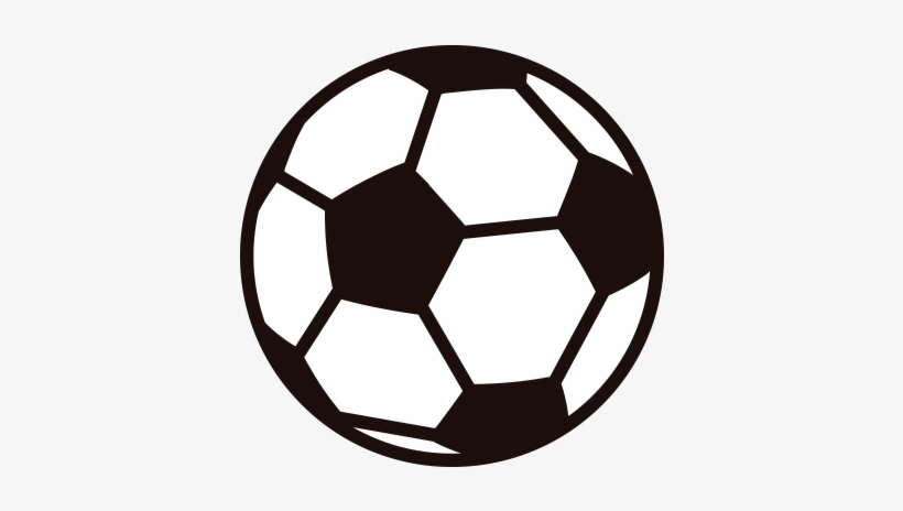 Soccer Ball Vector Png Clip Art Black And White Download Soccer Ball Illustration Png Png Image Transparent Png Free Download On Seekpng