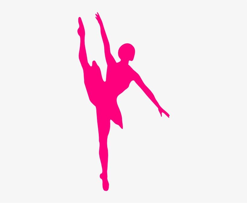 Hot Pink Ballet Dancer Clip Art At Clker Clip Art Dancer Png Image Transparent Png Free Download On Seekpng