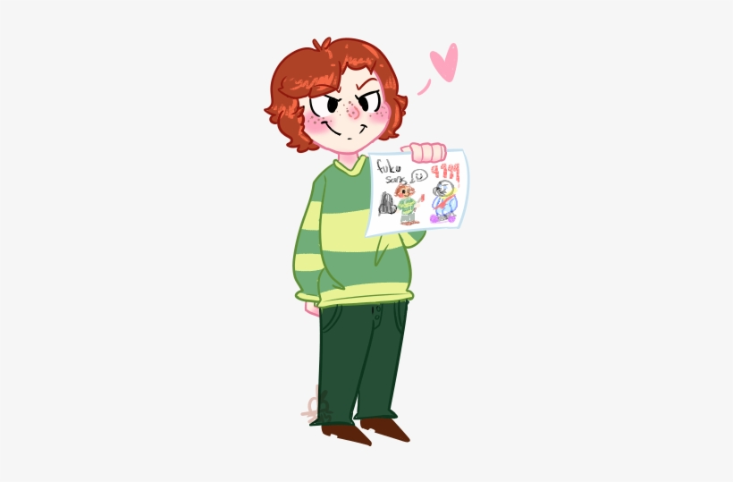 Undertale Clothing Green Facial Expression Pink Cartoon Coulsart
