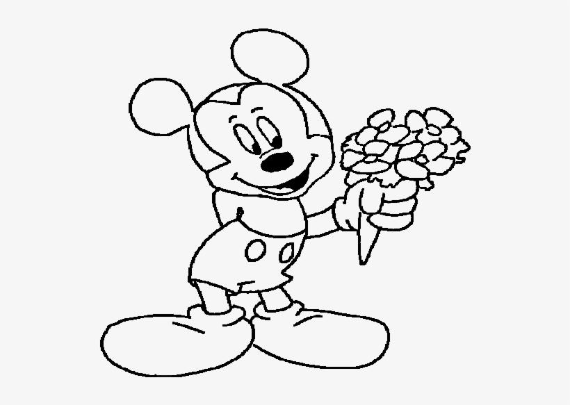 Mickeymouse 12 Mickey Mouse Boyama Sayfası Png Image Transparent