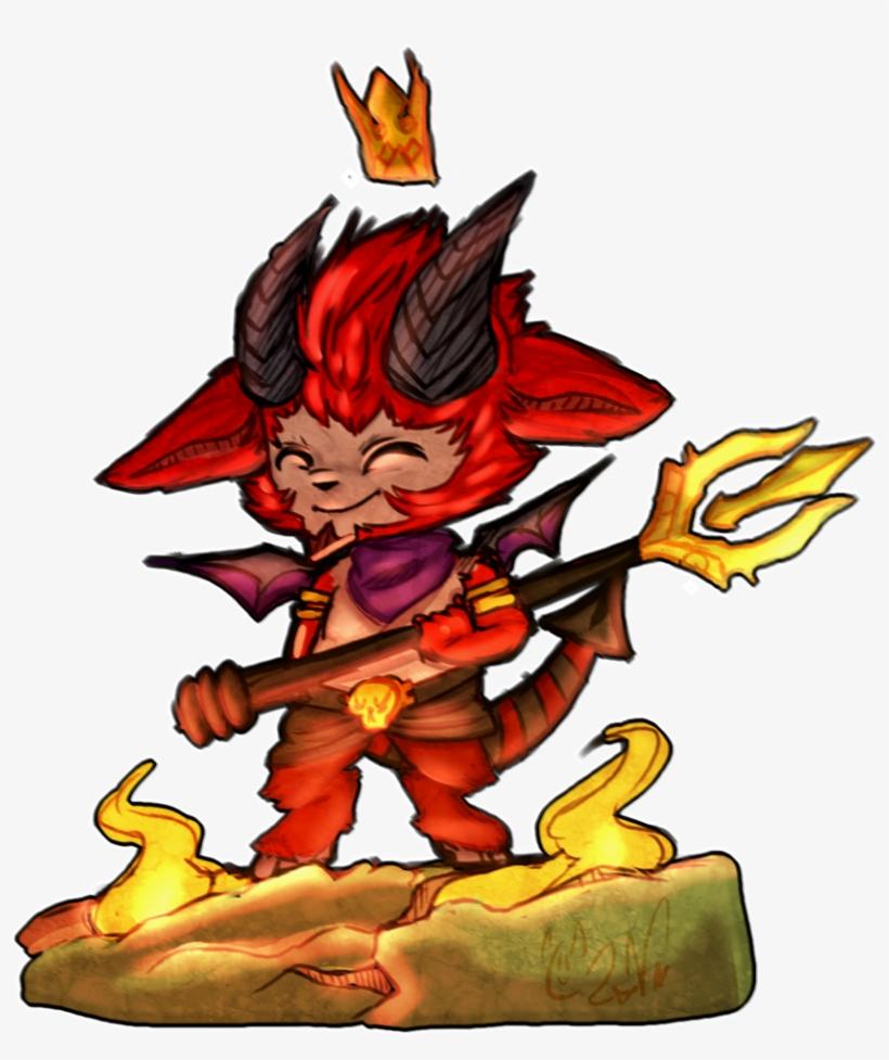 Little Devil Teemo Fanart Png Image Transparent Png Free Download