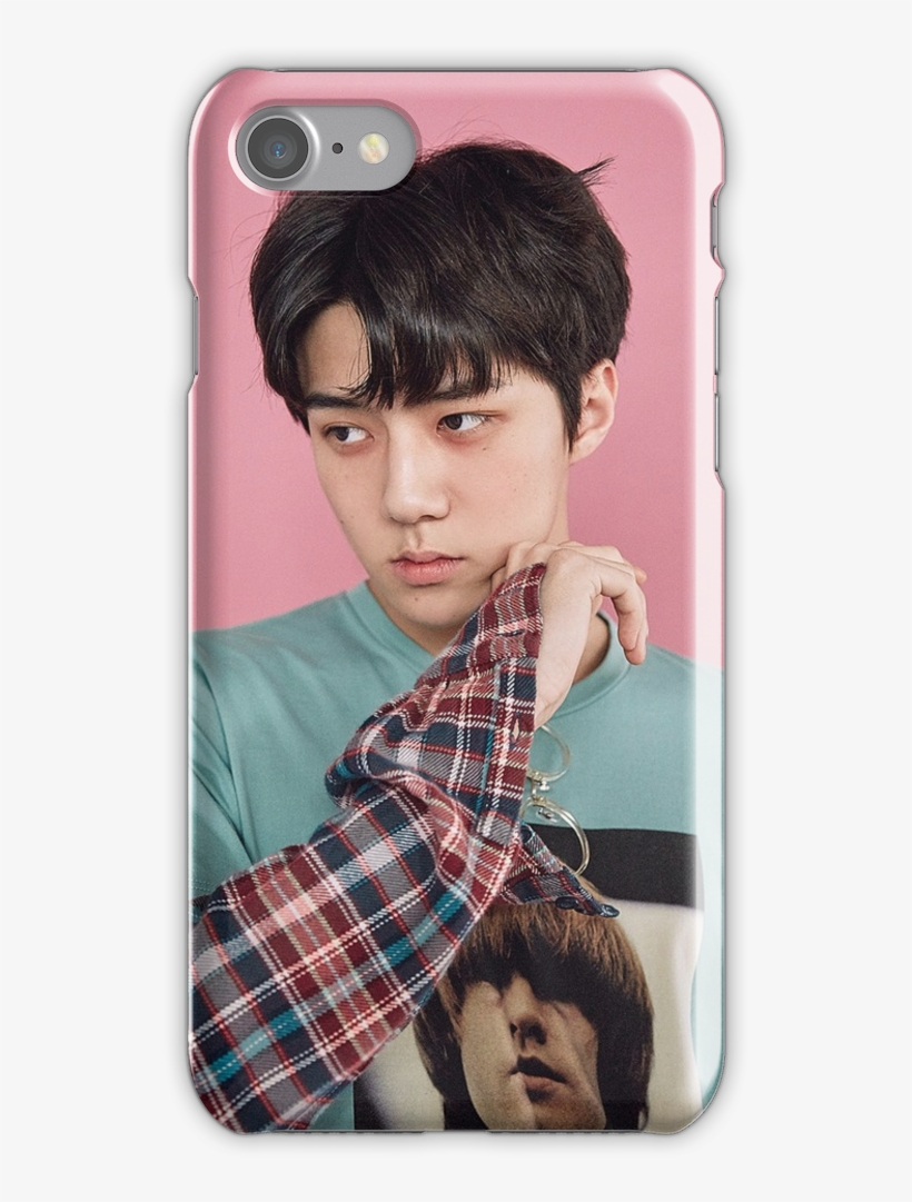 Exo Lucky Sehun Iphone 7 Snap Case Exo Sehun Lucky One Png Image Transparent Png Free Download On Seekpng