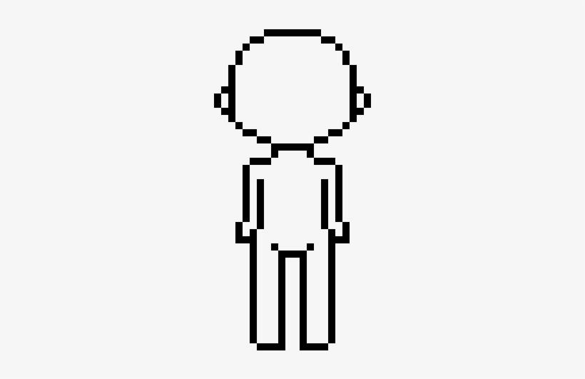 Dank Pixel Figure Pixel Art Body Template Png Image Transparent Png Free Download On Seekpng