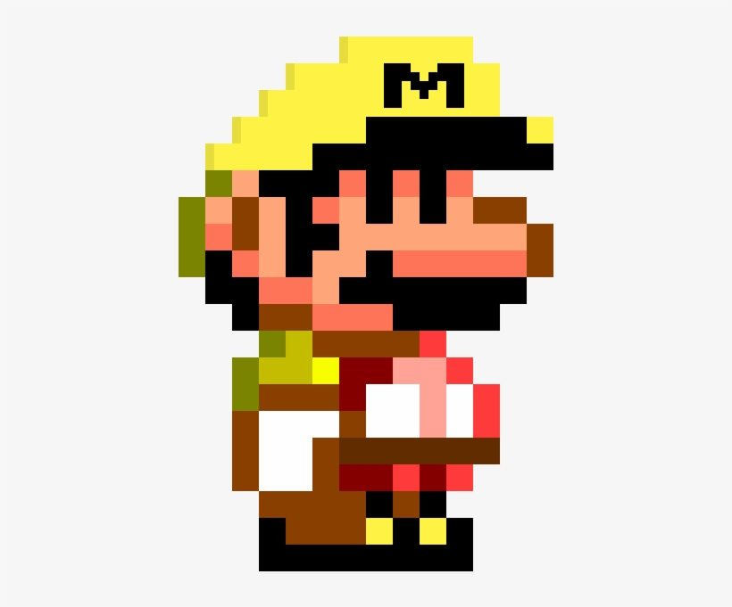 Mario Maker Mario Smw - Super Mario World Pixel PNG Image