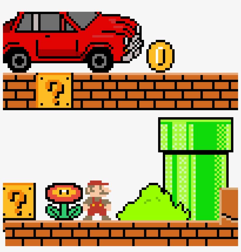 Mario Maker Mario Land - Super Mario PNG Image | Transparent