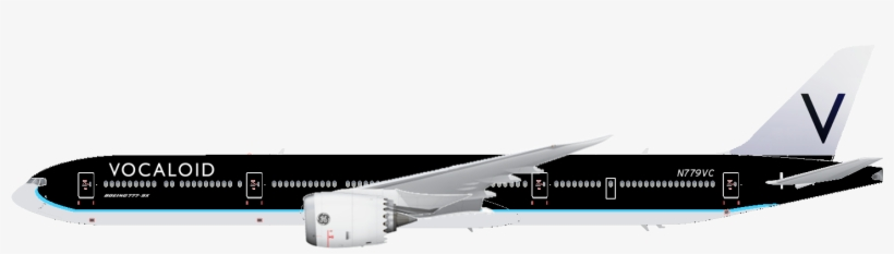 Annotated Drawing Boeing 777 Image Freeuse Library - Boeing 777 9x
