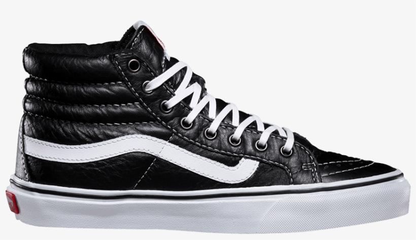 Vans Sk8-hi Slim Leather Black/ White