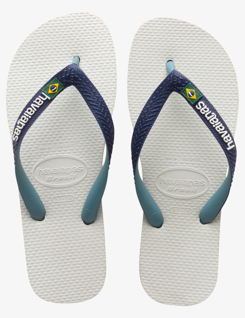 Blue Havaianas Men/'s Brasil Mix Flip Flops