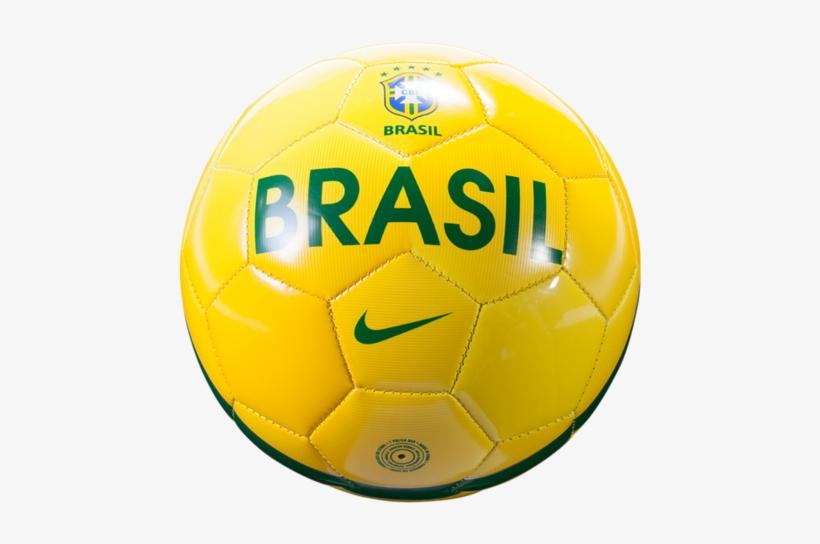 10fc45793 Nike Skills Skillsbrazil Coppng - Brazil Soccer Ball Png PNG Image ...