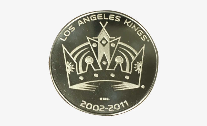 the latest 61a17 dd233 La Kings 50th Anniversary Crown Bronze Minted Coin - Los ...