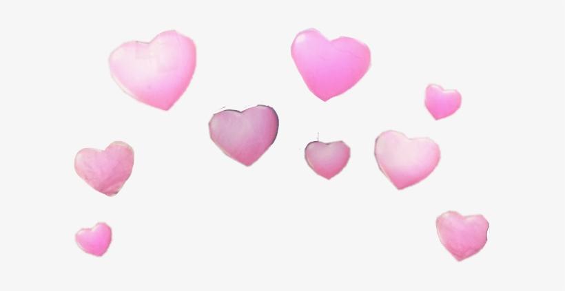 Snapchat Heart Filter Transparent Png Image Transparent