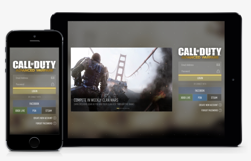 Mobile App Call Of Duty Advanced Warfare Png Image