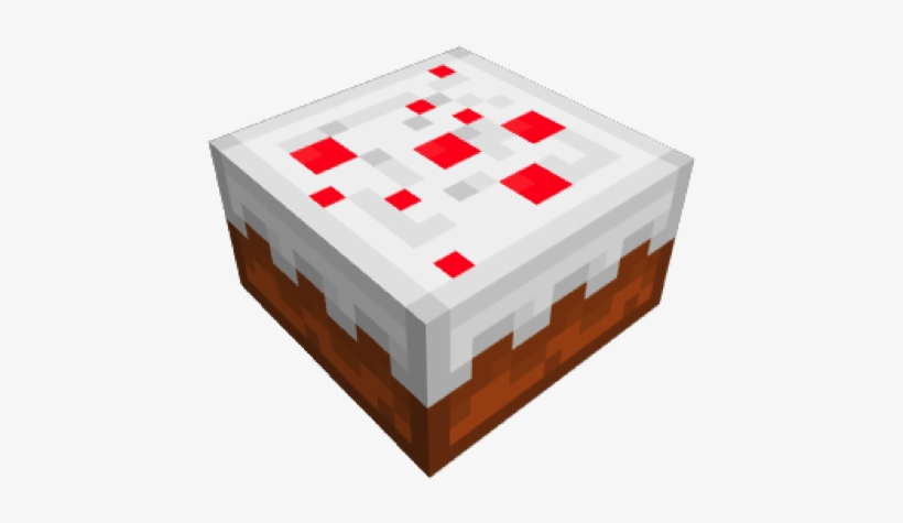 Minecraft Cake Png Minecraft Birthday Cake In Game Png Image