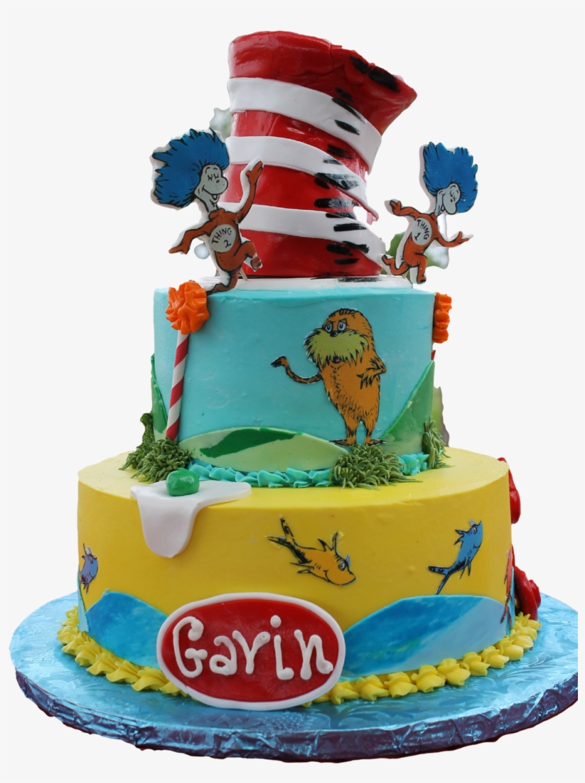 Awesome Dr Suess Cat In The Hat Birthday Cake Make A Dr Seuss Cake Png Funny Birthday Cards Online Alyptdamsfinfo
