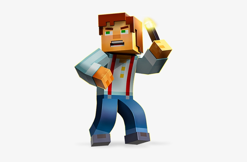 Character Oc Jesse Minecraft Story Mode Png Png Image Transparent Png Free Download On Seekpng