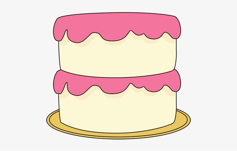 980 Birthday Cake Clip Art No Candles Public Domain Vectors